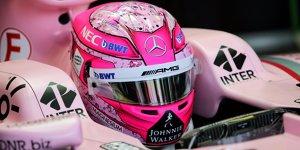 Esteban Ocon: Als Junior mit Schumi-Helm gefahren