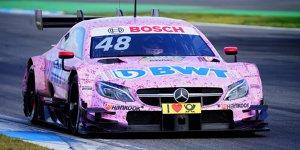 Mercedes fährt über 7.000 Kilometer in Hockenheim