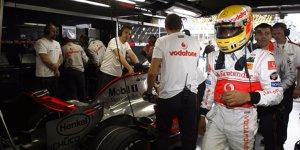Als Rookie Lewis Hamilton 2007 fast Weltmeister wurde ...