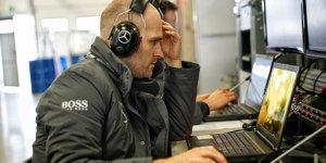 DTM-Backstage: Mercedes-Dateningenieur erklärt seinen Job
