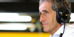 Alain Prost wünscht sich Abkehr von V6-Motoren und DRS