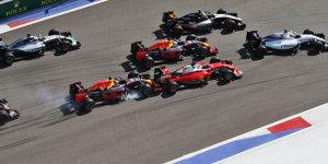 Ein Jahr danach: Kwjat lacht über Russland-Crash mit Vettel
