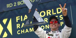 WRX Portugal: Mattias Ekström ringt Sebastien Loeb nieder