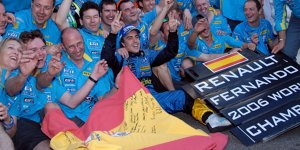 """Alonso zurück zu Renault? """"Leben nicht in der Vergangenheit"""""""