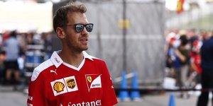 Formel-1-Live-Ticker: Warum Vettel jetzt auf Socken läuft