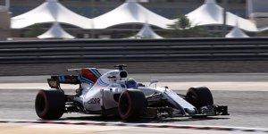 Formel 1 Russland 2017: Williams ist guter Dinge