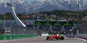 Formel 1 Russland 2017: Erste Bestzeit für Räikkönen seit 2016