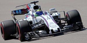 Red-Bull-Schreck Williams unter allen Bedingungen schnell