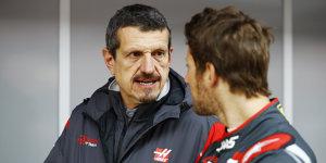 """Haas-Teamchef lässt Grosjean motzen: """"Ist das etwas Neues?"""""""