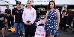 Kampf gegen Brustkrebs: Mehr Rosa für Force India