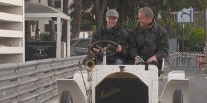 Mick Schumacher: Seine erste Runde in Monaco!