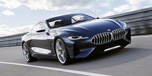 BMW Concept 8 Series: Das neue Gesicht