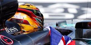 "Lewis Hamilton: ""Ferrari ist immer noch Favorit"""