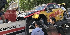 WTCC Vila Real: Tom Coronel rammt Feuerwehrauto!