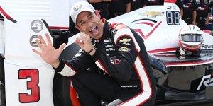 IndyCar Elkhart Lake: 50. Pole-Position für Helio Castroneves