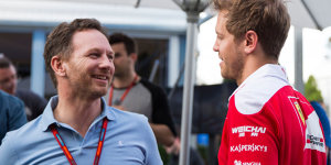 """Red-Bull-Chef ulkt über Vettel-Rammstoß: """"Tourette-Anfall"""""""