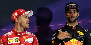 Ex-Teamkollege Ricciardo: Vettel handelt und denkt danach