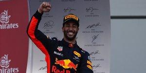 Formel-1-Live-Ticker: Ricciardo schwört Red Bull die Treue