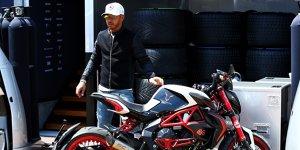 "Hamilton: ""Würde gerne mal ein MotoGP-Motorrad fahren"""