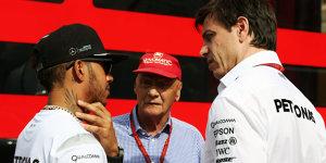 Niki Lauda bestätigt: Hamilton hat um neuen Vertrag angefragt