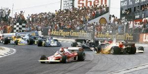 1976: Ein Großbritannien-Grand-Prix für die Ewigkeit