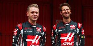 Haas legt sich fest: Auch 2018 mit Magnussen und Grosjean