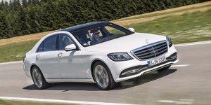 Mercedes-Benz S-Klasse: Admiral-Streifen fürs Spitzenmodell