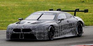Video: Der neue BMW M8 GTE im Soundcheck