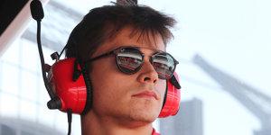 Räikkönen prophezeit Ferrari-Junior Leclerc gute Zukunft