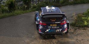 Rallye Deutschland: Ott Tänak nach nassem Freitag vorne