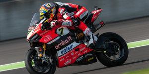 WSBK Lausitzring: Davies besiegt die Kawasakis in Lauf eins