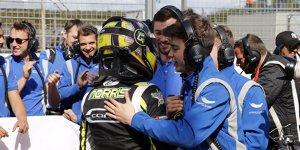 Formel-3-EM: Norris siegt, Günthers Punktepolster schmilzt
