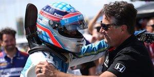 IndyCar Pocono: Sato auf Pole, Hunter-Reay im Krankenhaus