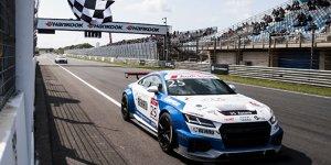 Audi-TT-Cup: Philip Ellis und Mikel Azcona teilen sich die Siege