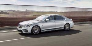 Mercedes-Benz S 560e: Mehr Reichweite für Hybrid-S-Klasse