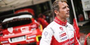 Nächster WRC-Test: Sebastien Loeb fährt Citroen auf Schotter