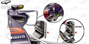 Formel-1-Technik: So kopiert Red Bull eine Ferrari-Idee