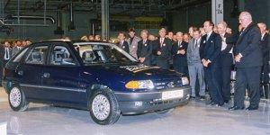 Opel-Werk Eisenach feiert: 25 Jahre Premiere des Opel Astra