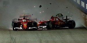 """Felipe Massa: """"Zu aggressiver"""" Vettel hat Startcrash ausgelöst"""