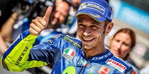 """Rossi überrascht sich selbst: """"Im Rennen werde ich leiden"""""""