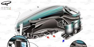 """Formel-1-Technik: Wie Mercedes die """"Diva"""" W08 gezähmt hat"""