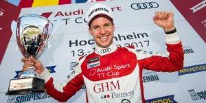 Philip Ellis ist Meister des Audi-TT-Cup 2017