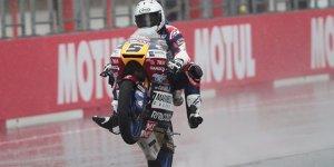 Moto3 Motegi: Romano Fenati gewinnt Regenschlacht in Japan