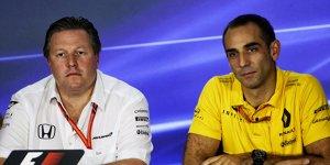 """Renault hat keine Angst vor McLaren: """"Müssen alle schlagen"""""""
