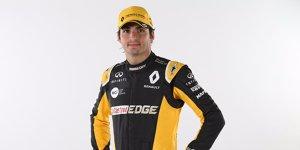 Antrittsbesuch bei Renault: Enstone-Umbau beeindruckt Sainz