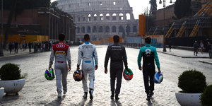 Ciao, Rom! Formel E präsentiert Rennen in der Ewigen Stadt