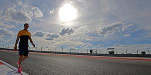 Formel-1-Wetter Austin: Regen möglich, aber nicht am Sonntag