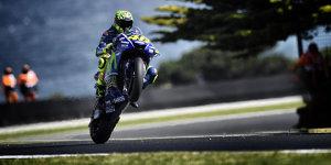 """Rossi vorerst nicht in Q2: Neunter Triumph wird """"schwierig"""""""