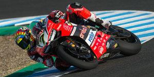 Ducati: Technisches Problem bringt Chaz Davies zu Fall