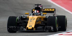 Renault fährt Motor für 2018: Hülkenberg nächstes Strafenopfer